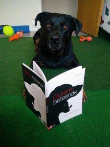 Rottweiler med boken Djurens beteende...och orsakerna till det Av Per Jensen