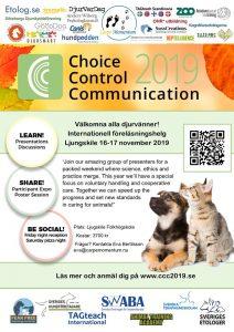 Choice, control och communication 2019